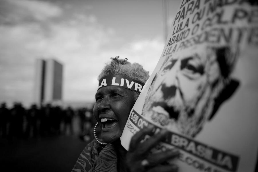 Brasil Lula Livre la-tinta