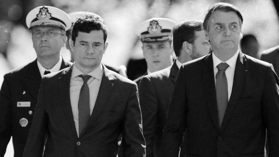 Brasil Sergio Moro Jair Bolsonaro la-tinta