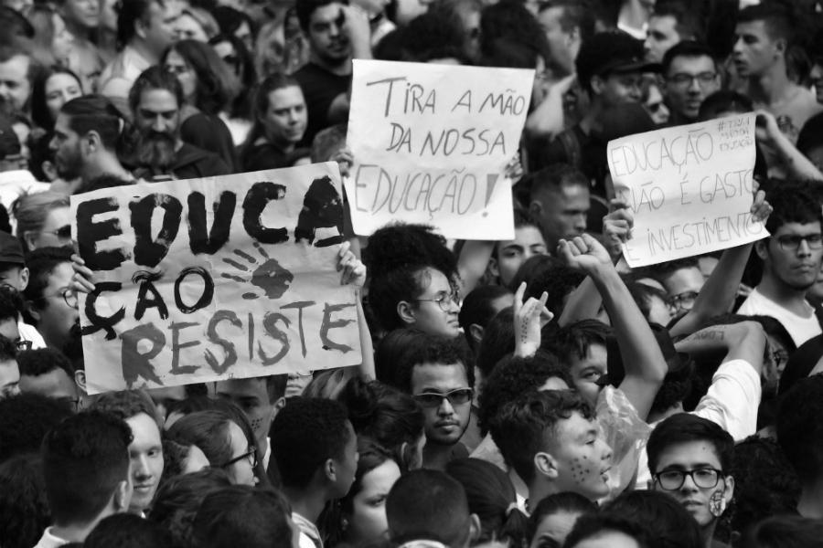 Brasil protesta docente la-tinta