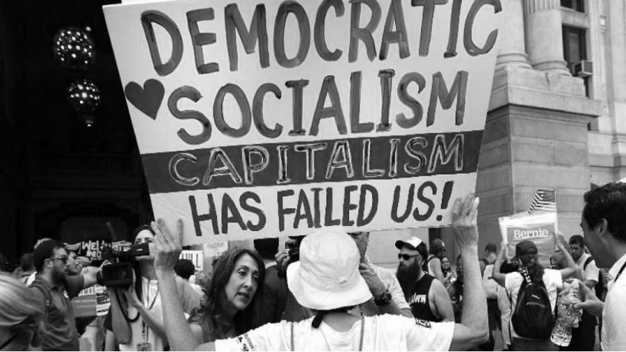 Estados Unidos socialismo democrático la-tinta