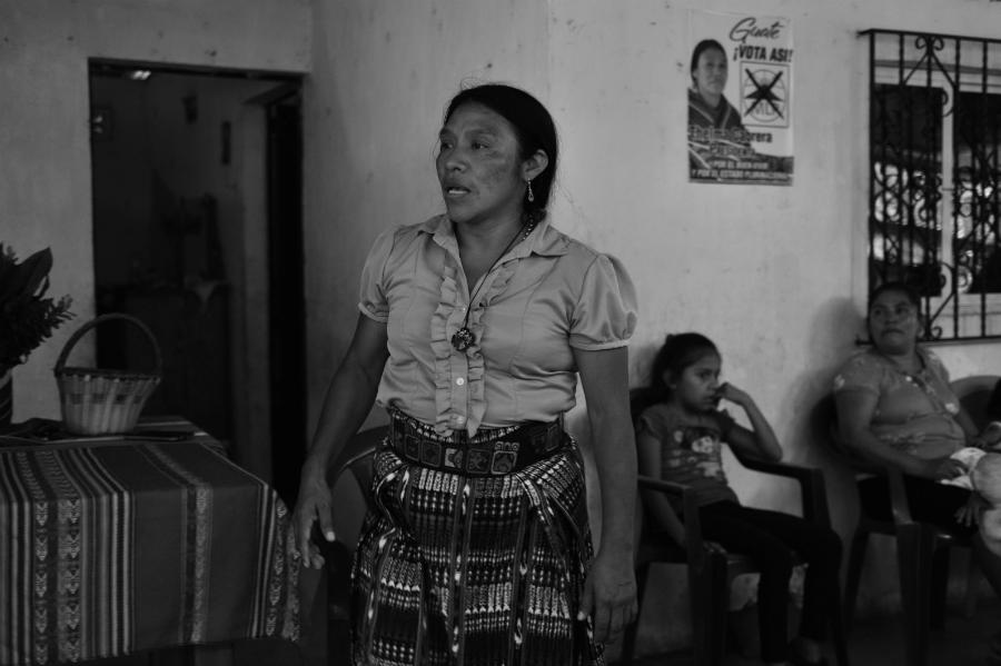 Guatemala elecciones presidenciales Thelma Cabrera la-tinta