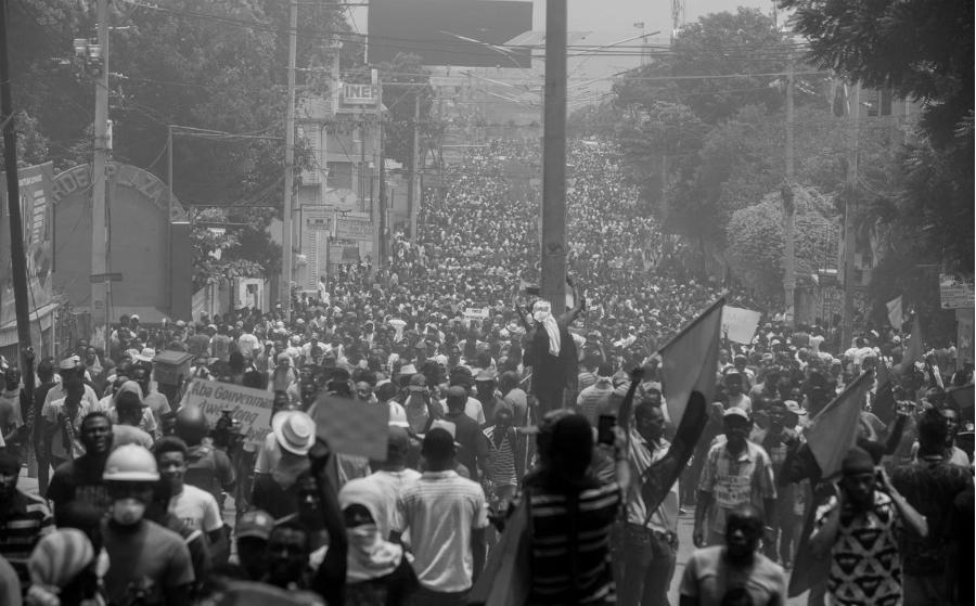 Haiti movilizaciones contra el gobierno la-tinta