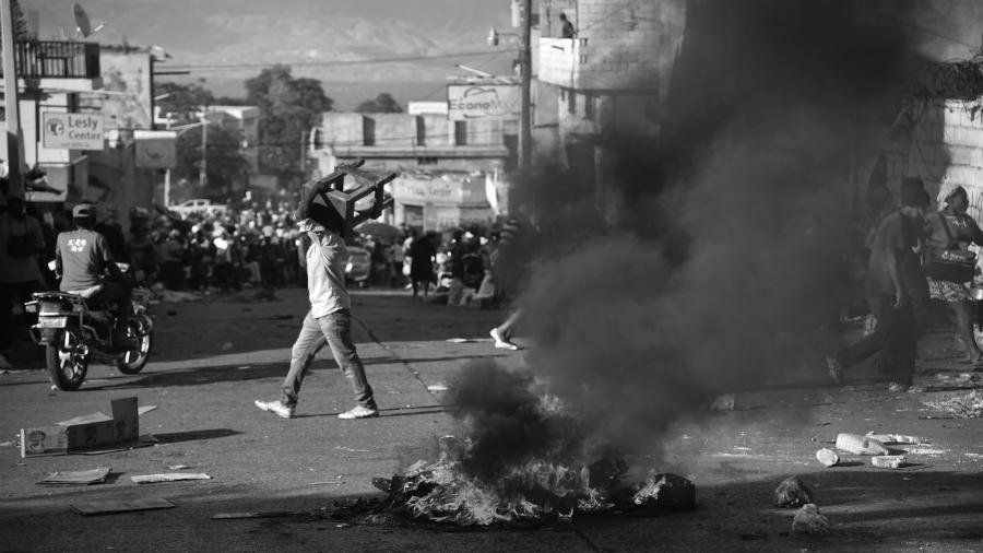 Haiti protesta social la-tinta