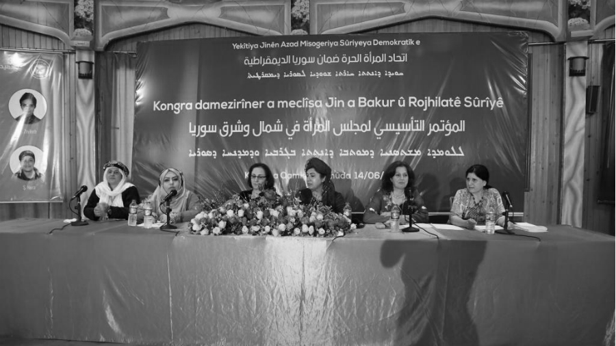 Kurdistan sirio asamblea de mujeres la-tinta