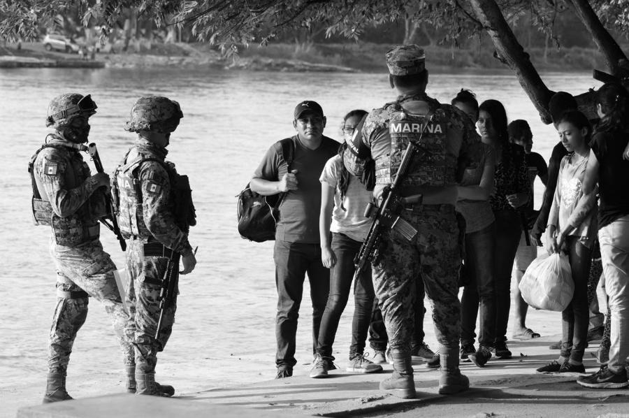 Mexico Chiapas militarizacion poblados la-tinta