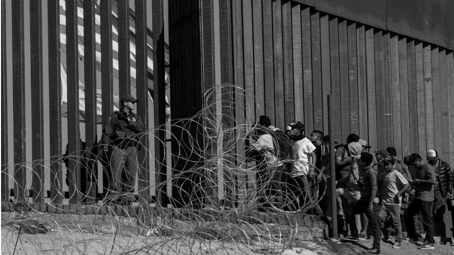 Mexico Estados Unidos frontera militarizada la-tinta