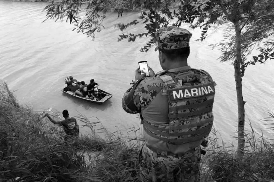 Mexico Rio Bravo migracion la-tinta