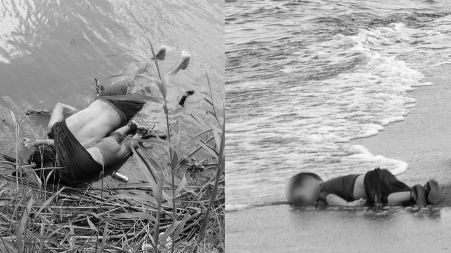Mexico Valeria y Oscar Alan Kurdi la-tinta