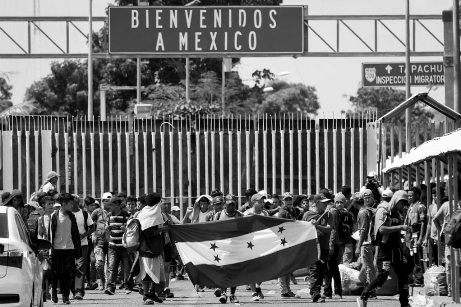 Mexico migrantes frontera sur la-tinta