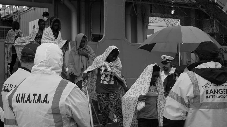 Nigeria Italia trafico de personas la-tinta