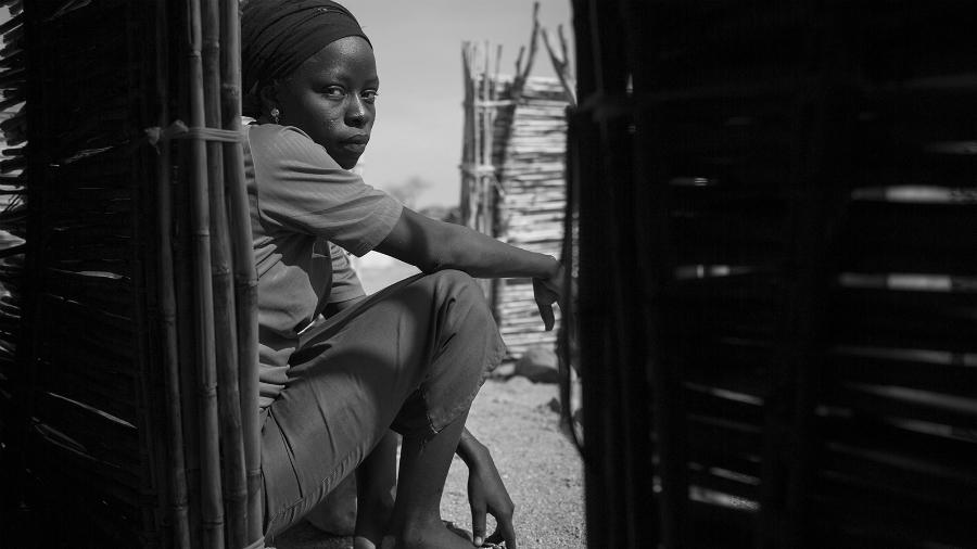 Nigeria mujer aldea la-tinta