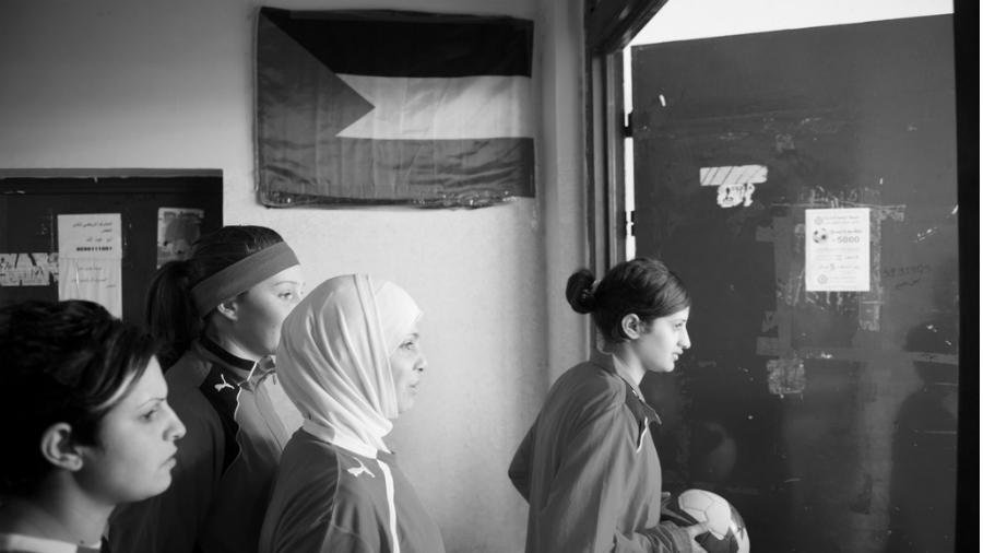 Palestina mujeres futbolistas la-tinta
