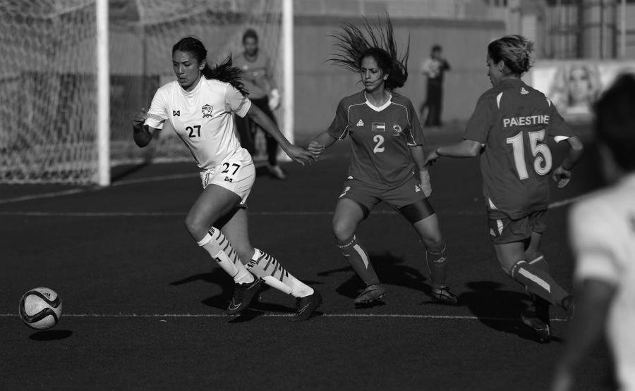 Palestina seleccion femenina de futbol la-tinta