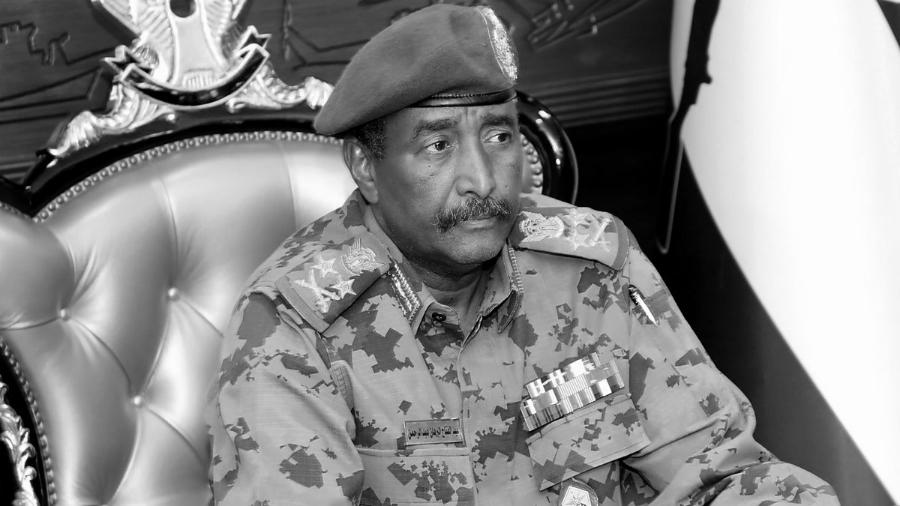 Sudam Abdel Fattah Burhan militar la-tinta