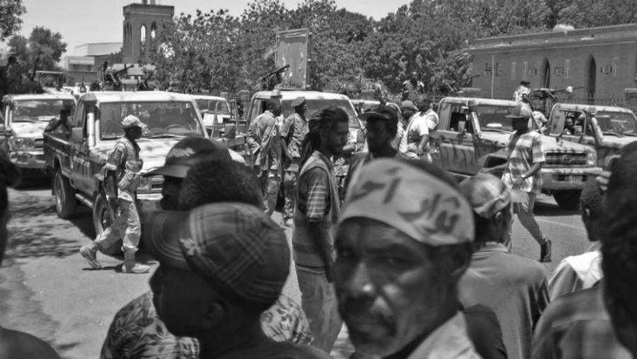 Sudan militares protestas la-tinta