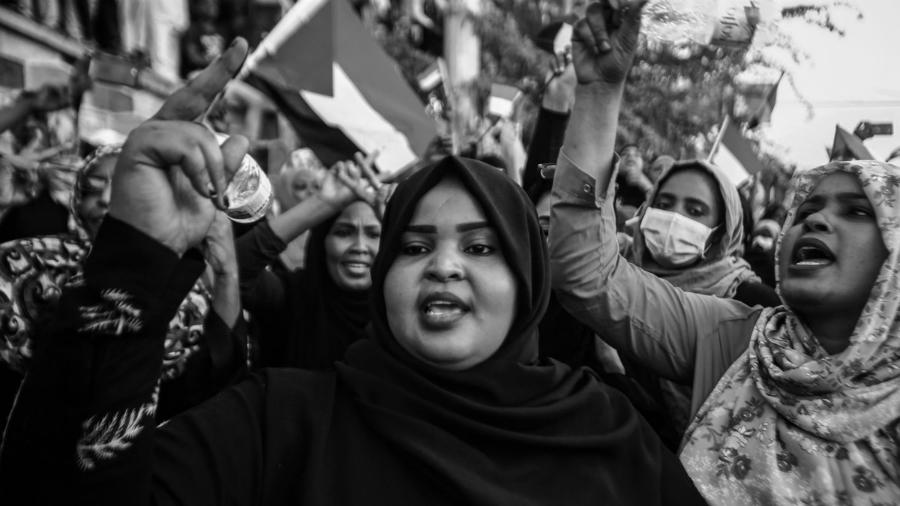 Sudan movilizacion de mujeres la-tinta