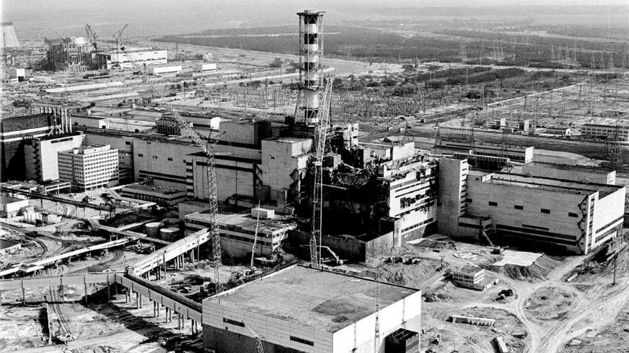 URSS Chernobil explosion la-tinta