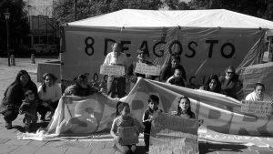 Alta Gracia: acampe por falta de servicios básicos en barrio 8 de agosto