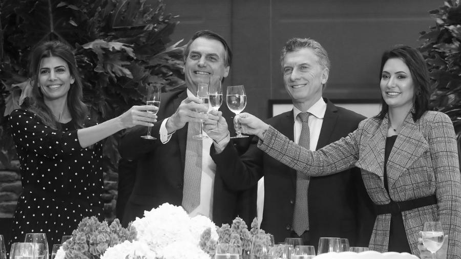 Argentina Brasil presidentes Macri y Bolsonaro la-tinta