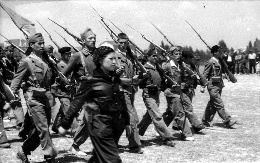 España guerra civil milicia republicana la-tinta