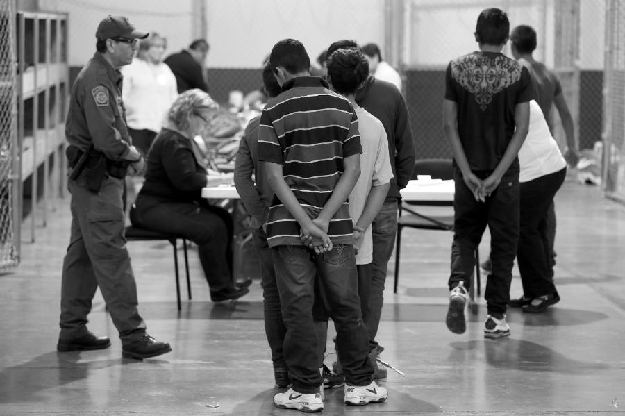 Estados Unidos centro detencion inmigrantes la-tinta