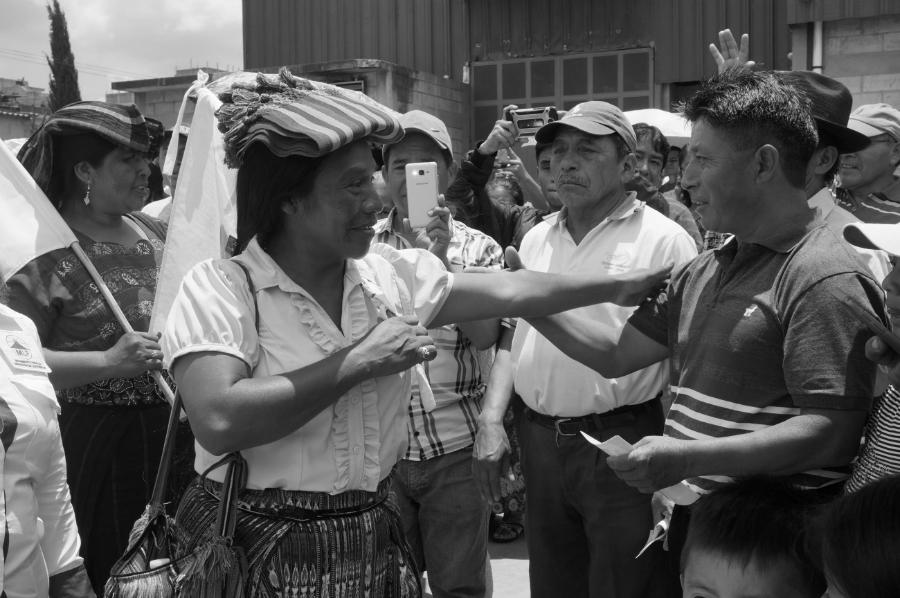 Guatemala Thelma Cabrera pueblos indigenas la-tinta