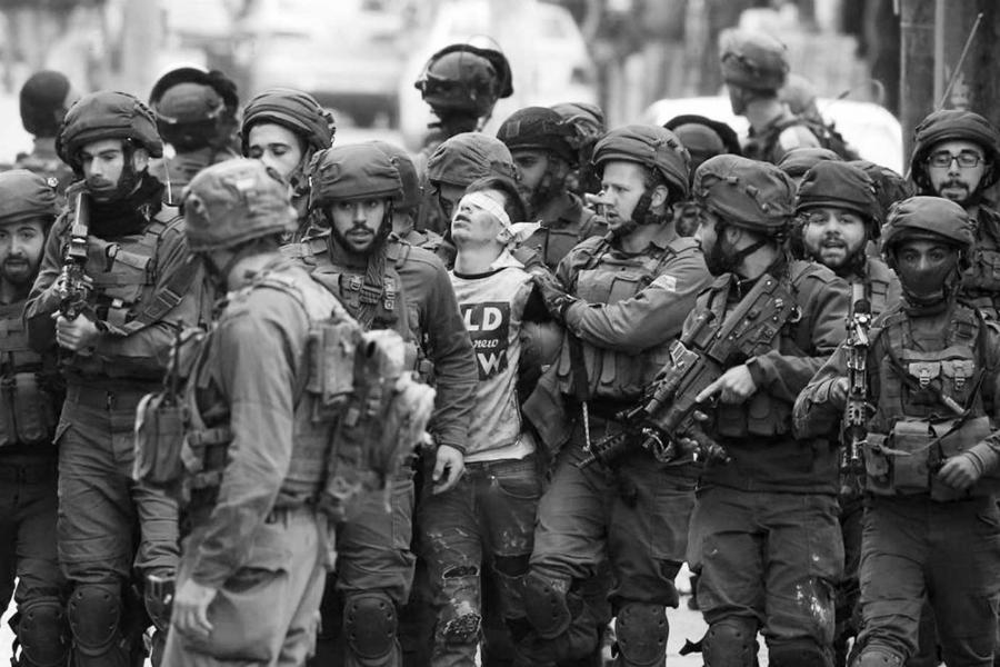 Israel arresta a niños palestinos laa-tinta