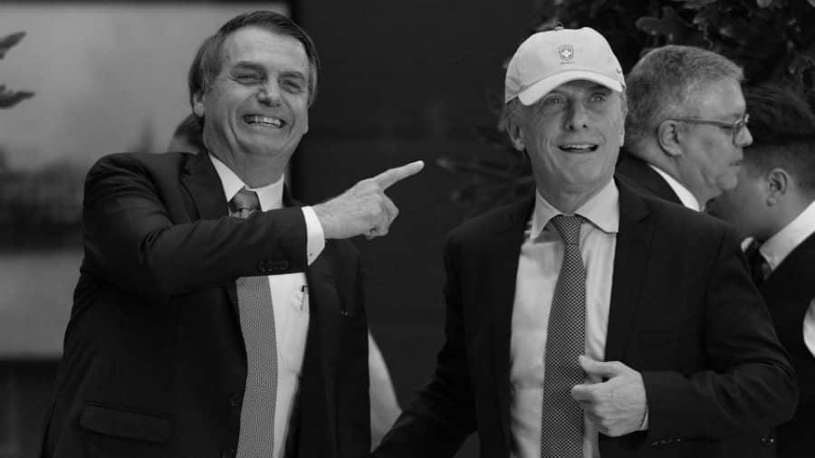 Mercosur Macri Bolsonaro la-tinta