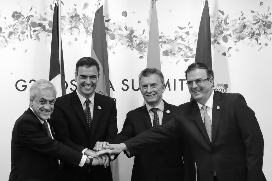 Mercosur Macri Piñera la-tinta