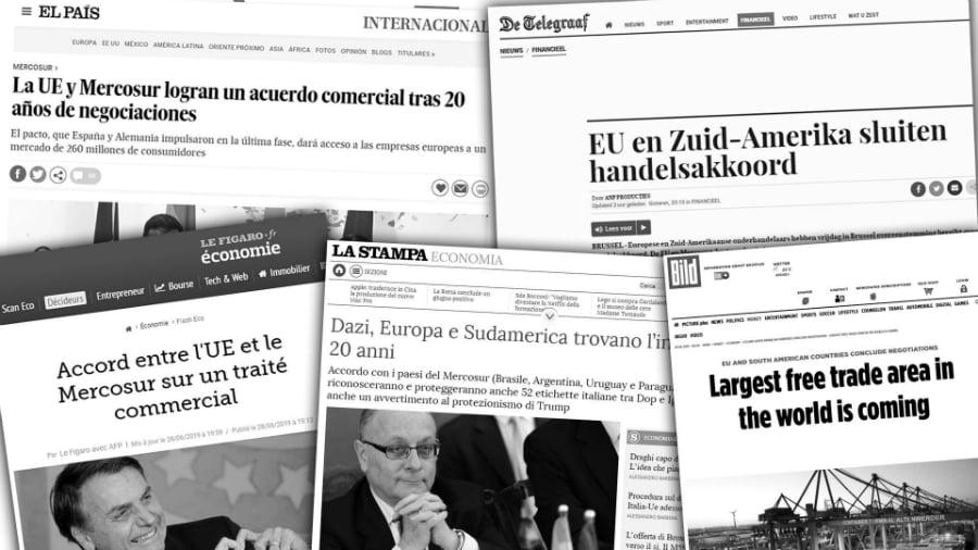 Mercosur Union Europea acuerdo medios la-tinta