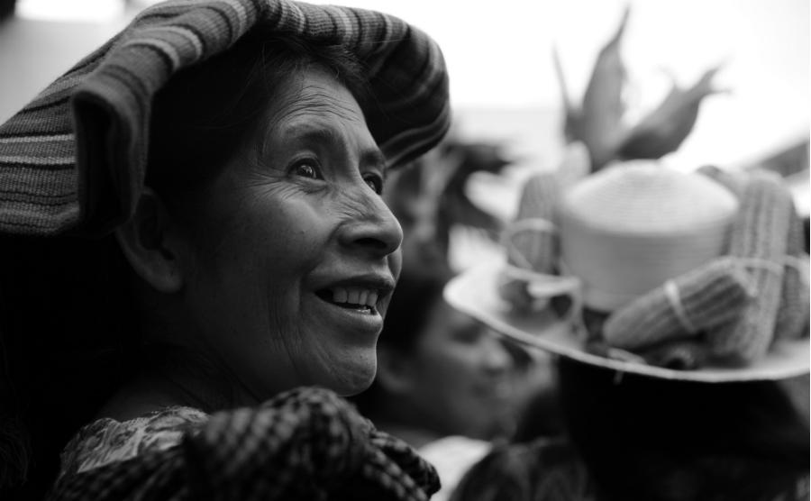 Mexico Campeche mujeres mayas la-tinta