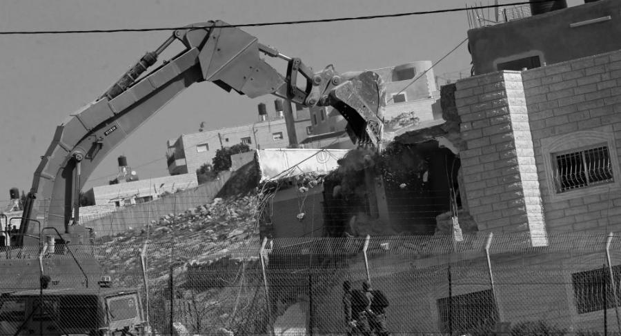 Palestina Cisjordania demolicion de viviendas la-tinta