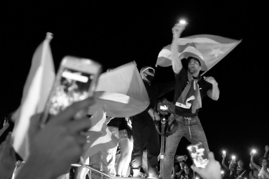 Puerto Rico Ricky Martin movilizacion la-tinta