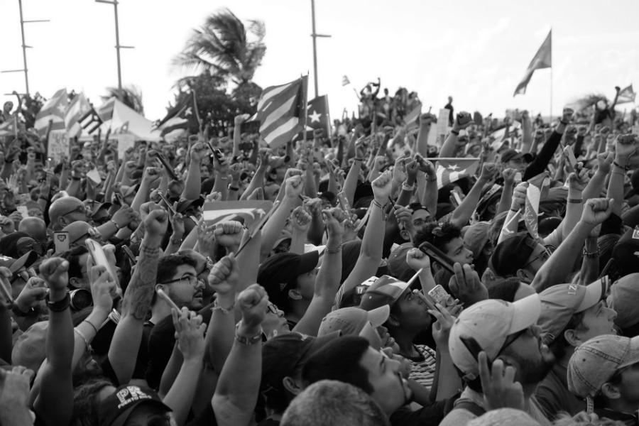 Puerto Rico concentracion masiva la-tinta