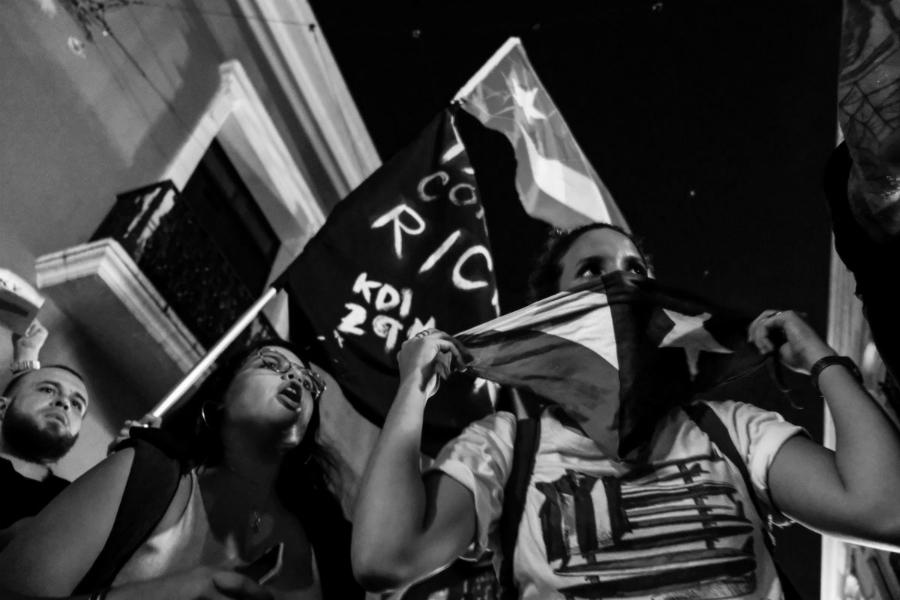 Puerto Rico manifestacion contra gobernador la-tinta