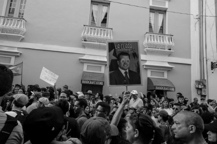 Puerto Rico marcha contra Rossello la-tinta