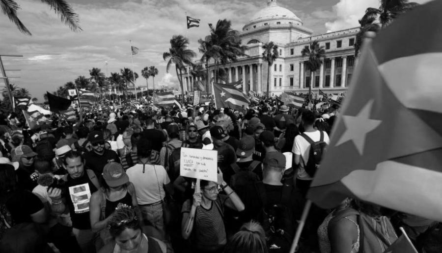 Puerto Rico masiva protesta contra gobernador la-tinta