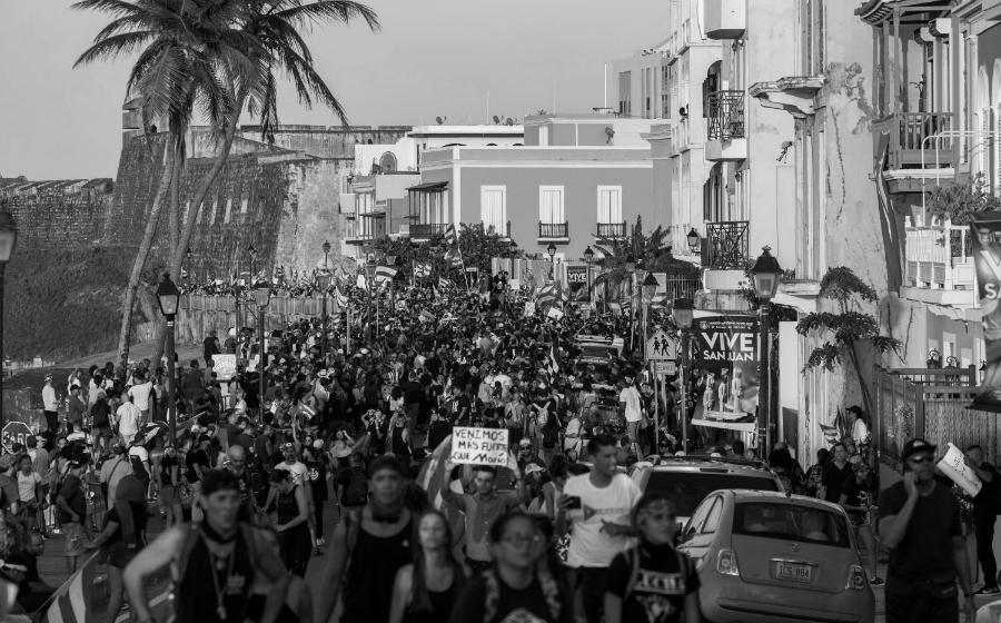 Puerto Rico movilizaciones masivas la-tinta