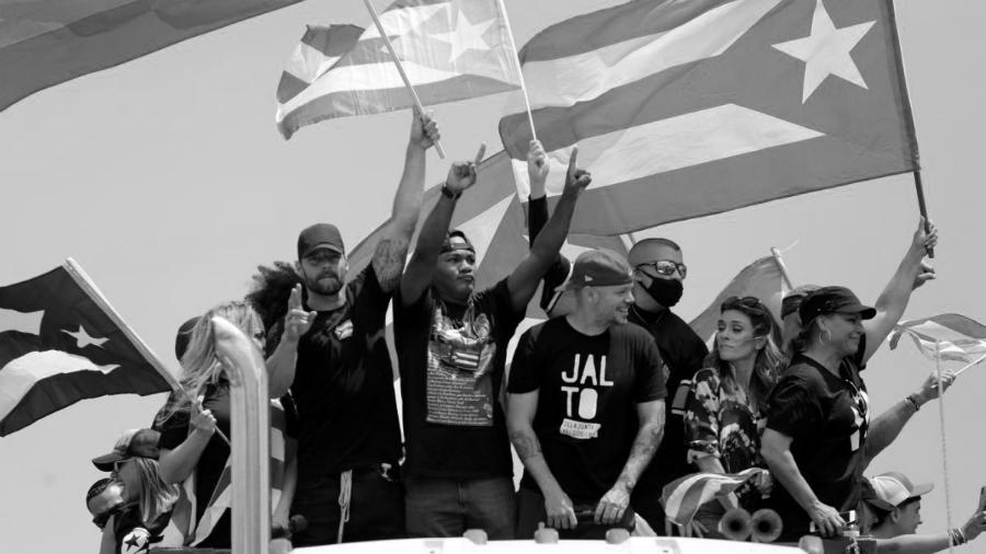 Puerto Rico protesta artistas la-tinta
