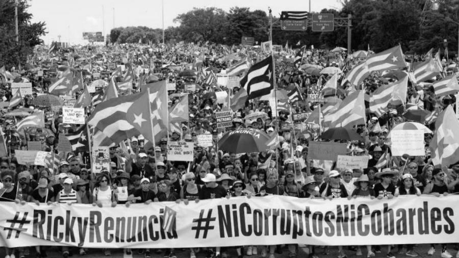 Puerto Rico protestas masivas la-tinta