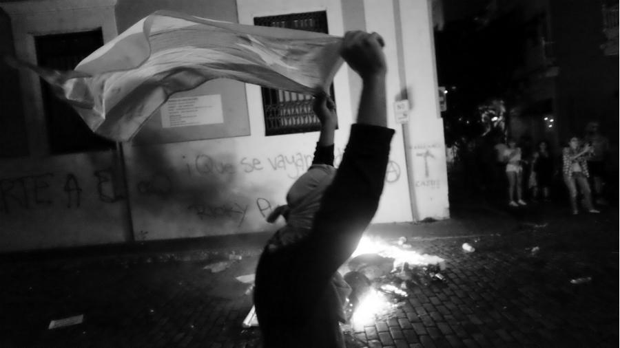 Puerto Rico pueblo movilizado la-tinta