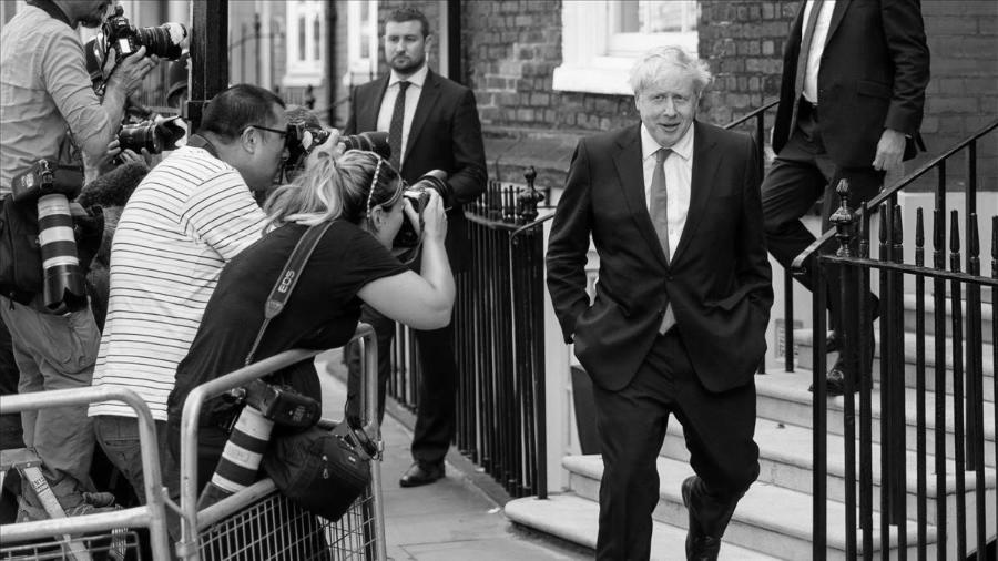 Reino Unido primer ministro Boris Johnson la-tinta