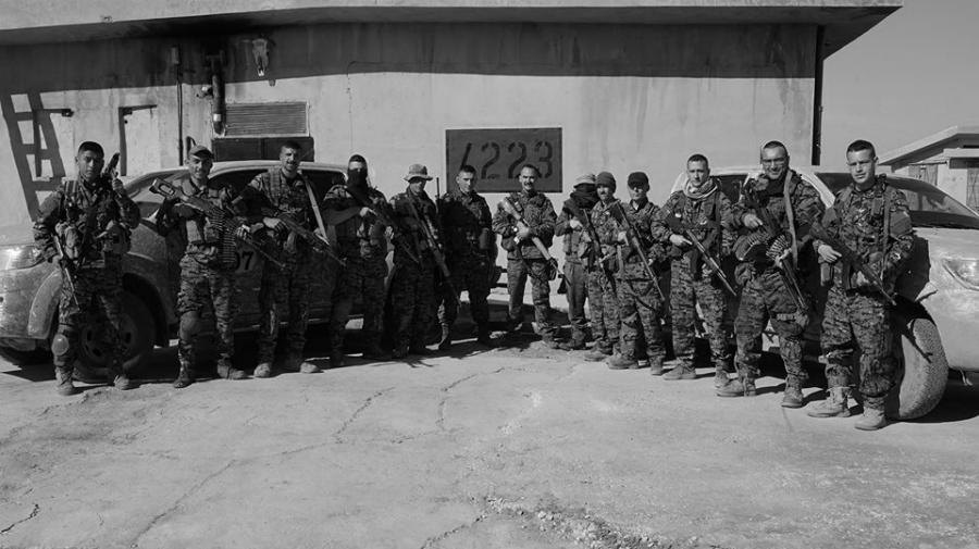 Rojava Unidad 223 la-tinta