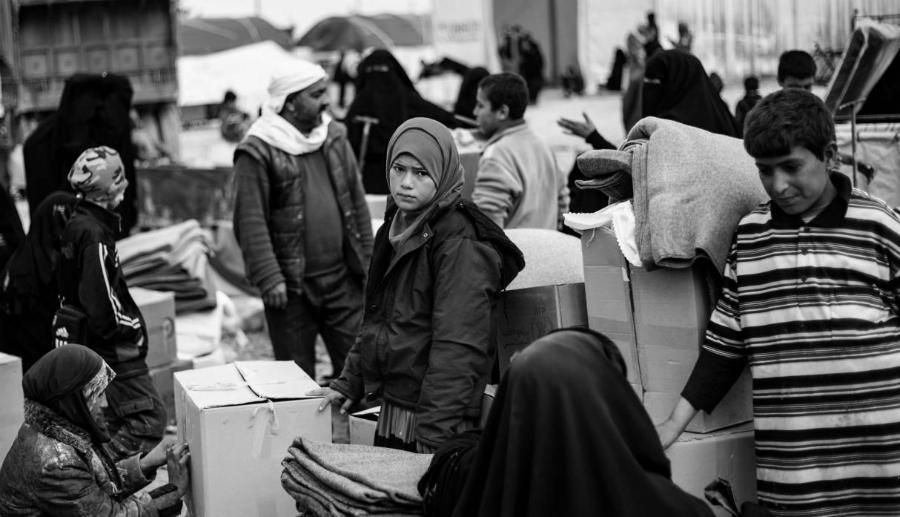 Siria Al Hol niños refugiados la-tinta