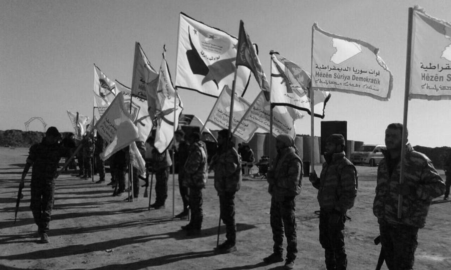 Siria FDS milicianos la-tinta