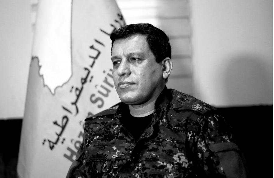 Siria comandante general de las FDS la-tinta