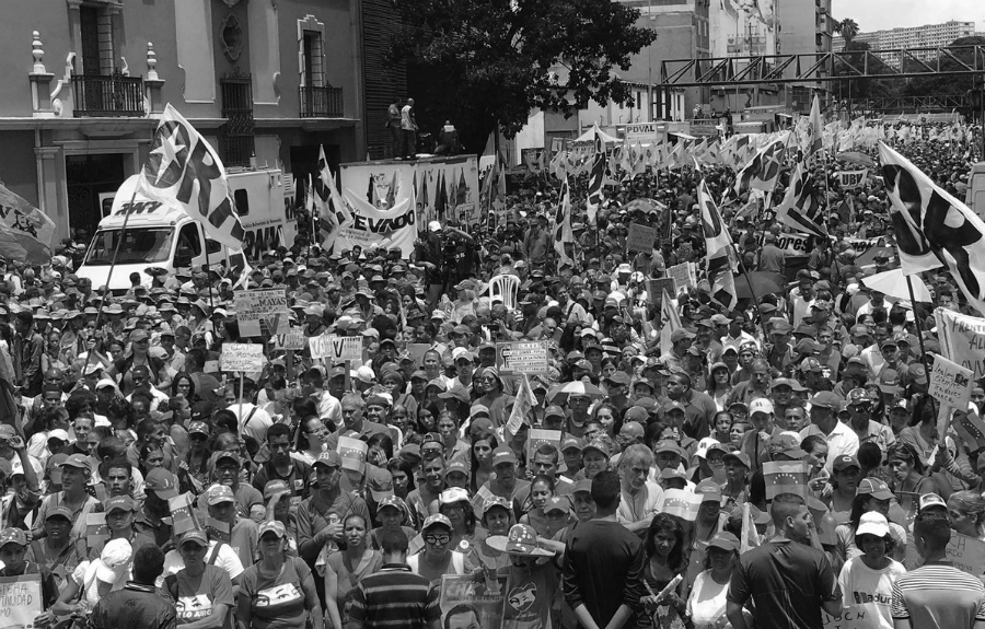 Venezuela Foro Sao Paulo 2019 movilizacion la-tinta
