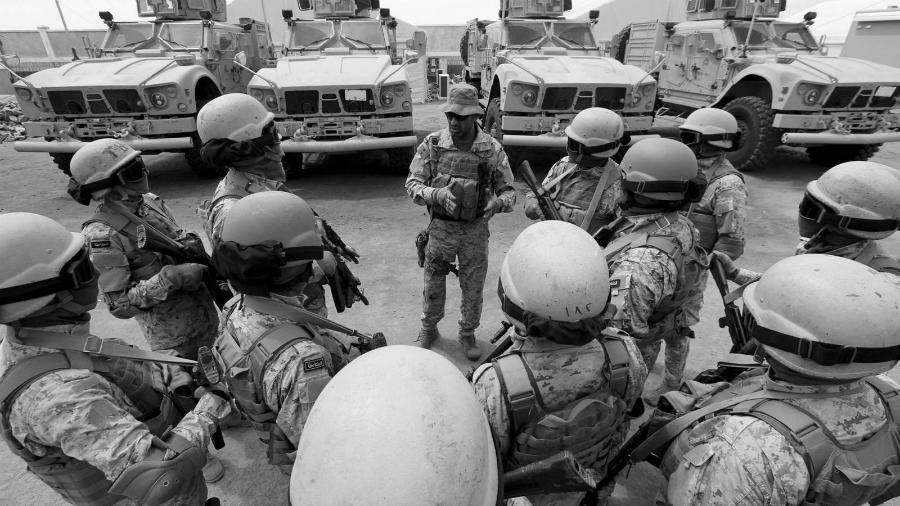 Arabia Saudi ejercito en yemen la-tinta