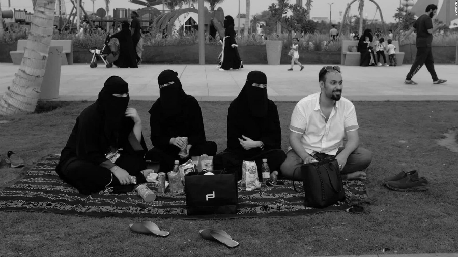 Arabia Saudi mujeres y tutor legal la-tinta