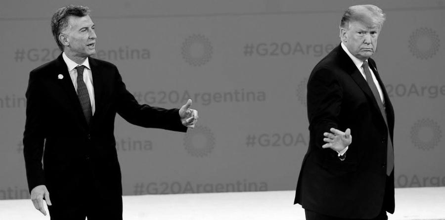 Argentina Macri Trump G20 la-tinta